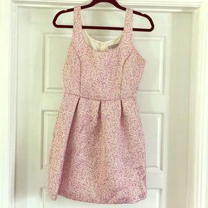 Aqua Purple doll dress
